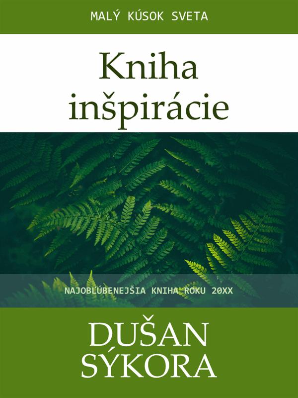 Obálky knihy na inšpiráciu