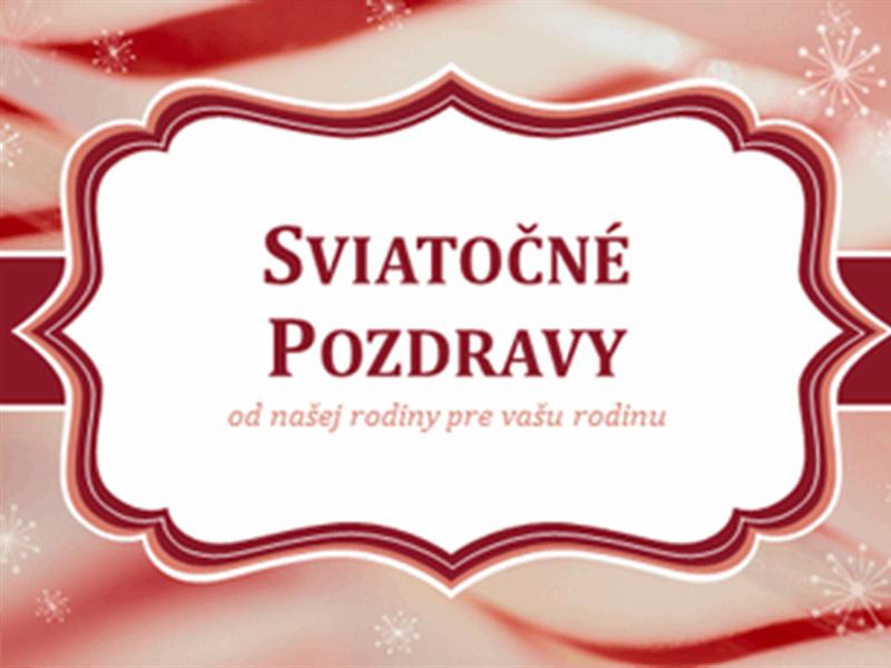 Vianočné pohľadnice scukrovinkami so špirálovým návrhom (2 na stranu)