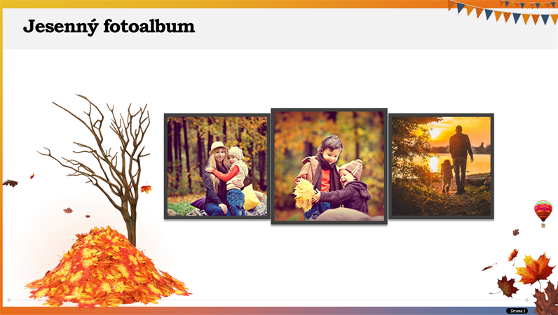 Jesenný fotoalbum
