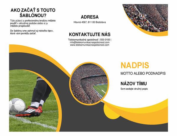 Športová brožúra