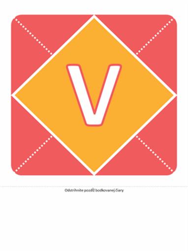 Transparent Vítame dievčatko (ružová, žltá, zelená)
