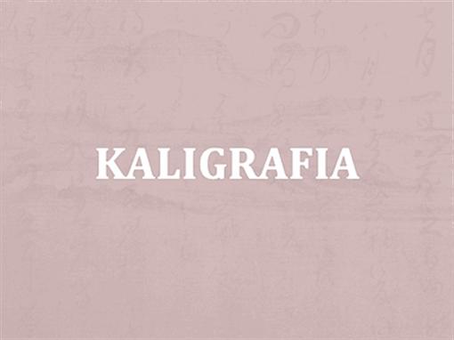 Kaligrafia