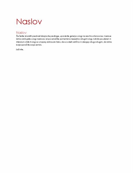 Dizajn »Ion« (prazno)