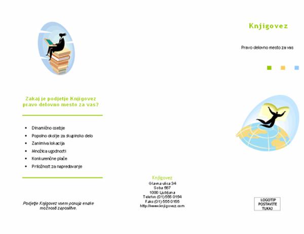 Brošura o zaposlovanju