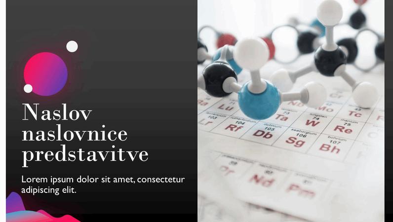 Predstavitev znanstvenih spoznanj