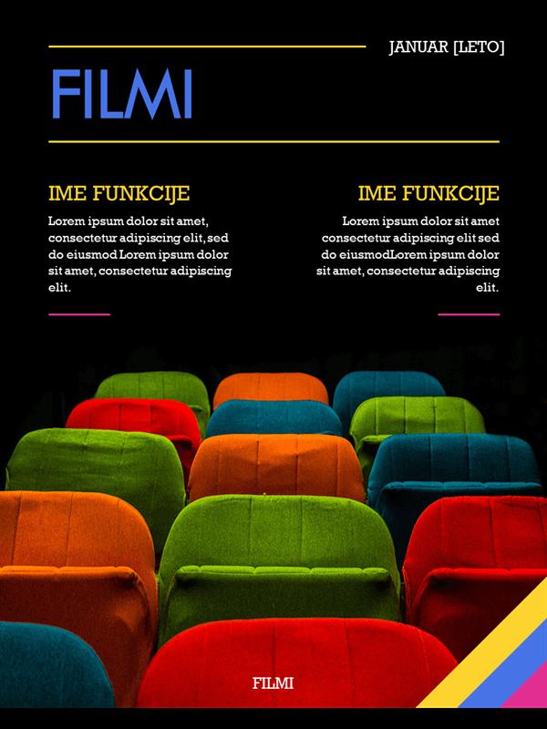 Naslovnice za filmske revije