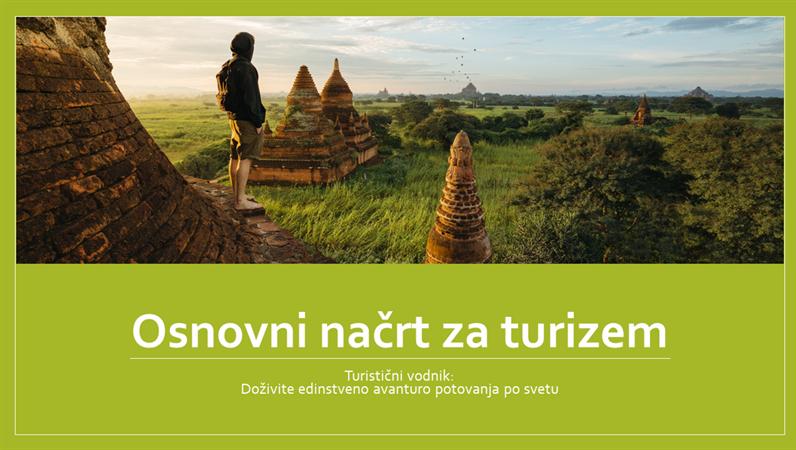 Osnovni načrt za turizem