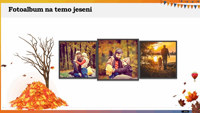 Fotoalbum na temo jeseni