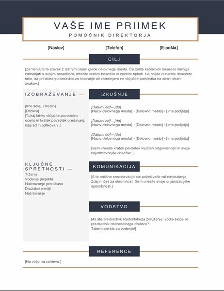 Preprost življenjepis