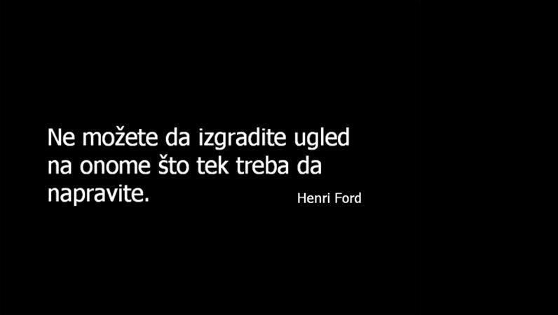 Slajd sa citatom Henrija Forda