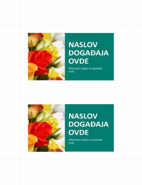 Promotivna razglednica (2 po stranici)