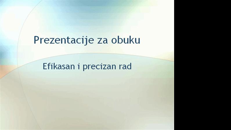 Prezentacija seminara za obuku