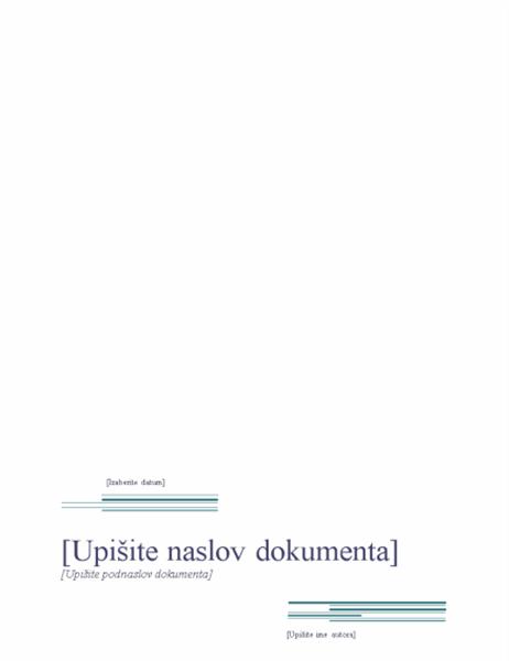 Izveštaj (Urbani dizajn)