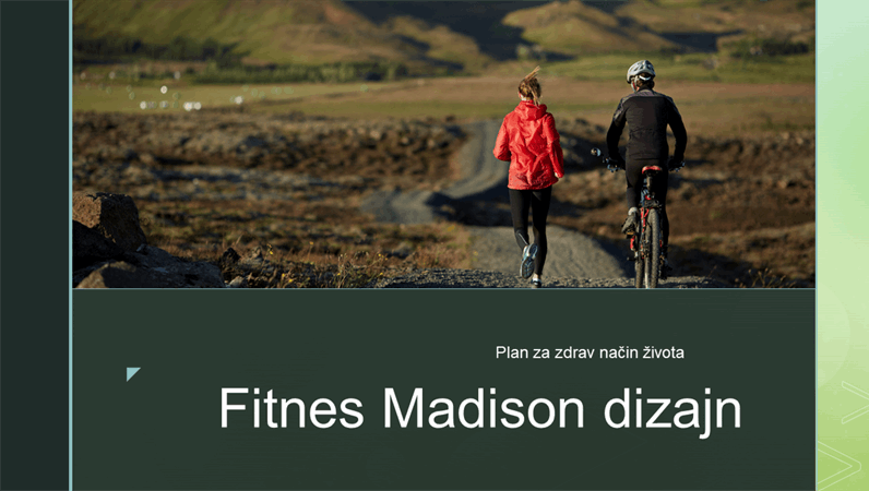 Fitnes Madison dizajn