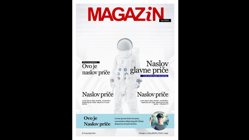 Naslovne stranice časopisa
