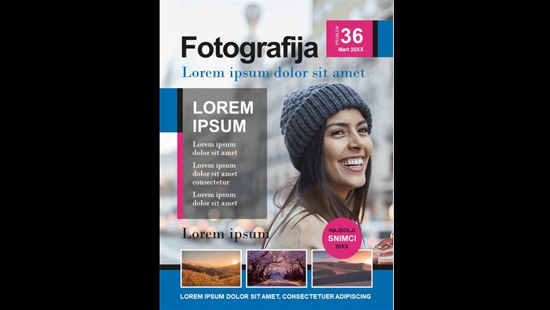 Naslovne stranice fotografskih časopisa
