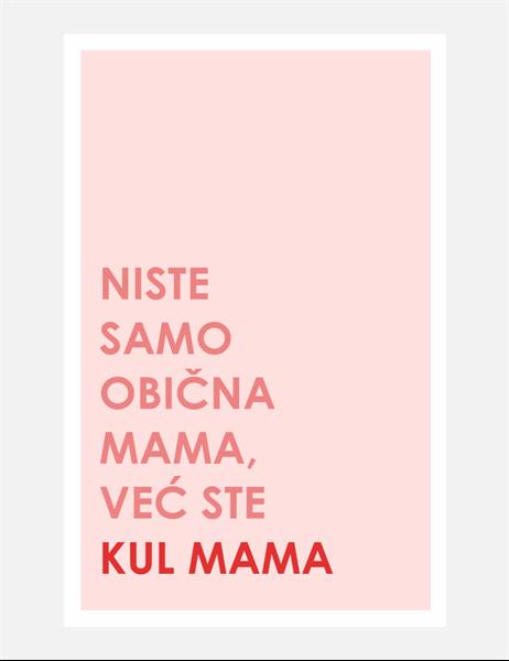 Čestitka kul mame za Dan majki