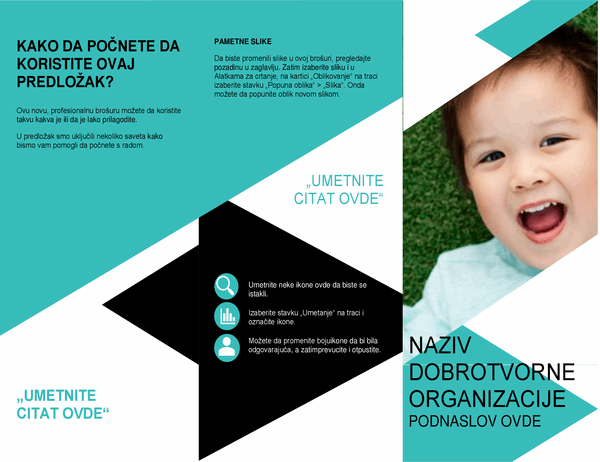 Brošura za nevladine organizacije