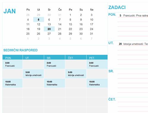 Studentski kalendar