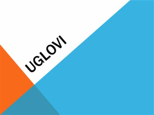 Uglovi