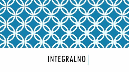Integralno