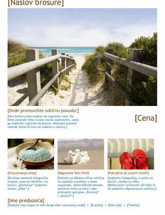 Turistička brošura sa fotografijama