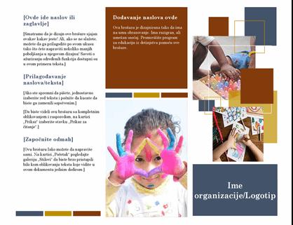 Brošura za obrazovanje