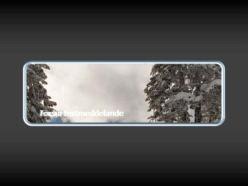 Animerad bild panorerar i fönster med bildtext som tonas fram