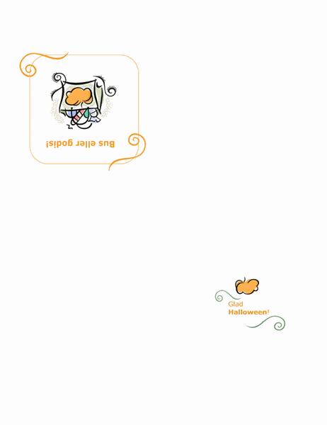 Halloween-kort
