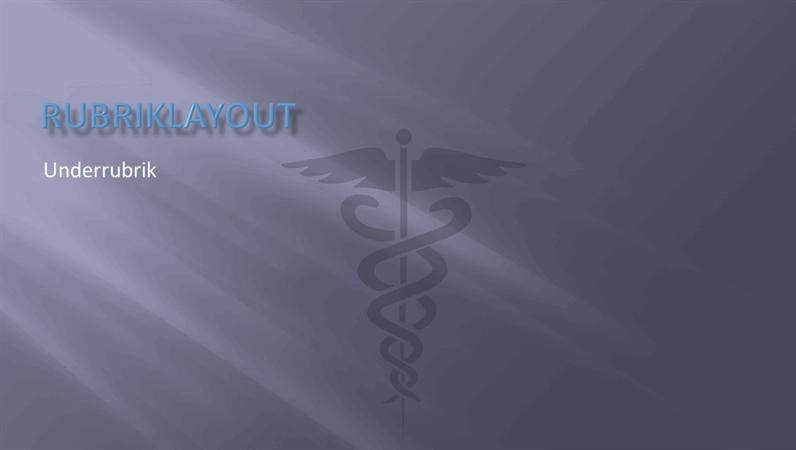 Presentationsbilder för sjukvården