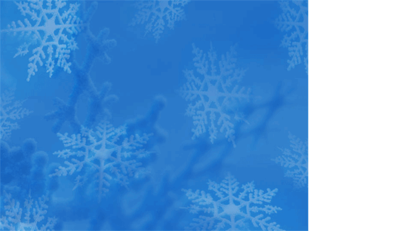 Snöflingor (designmall)