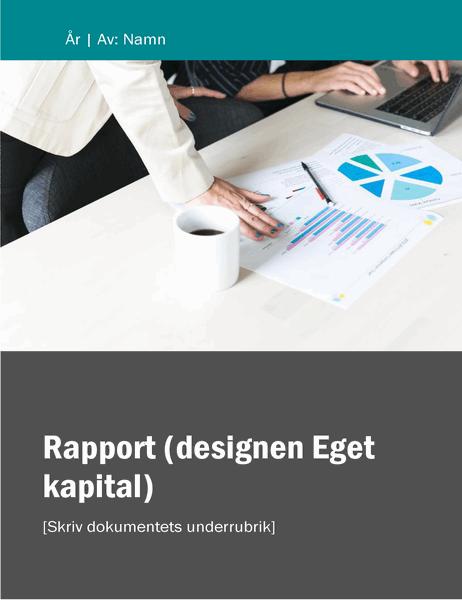 Rapport (temat Eget kapital)