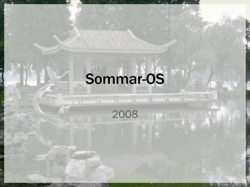 Formgivningsmall för sommar-OS 2008