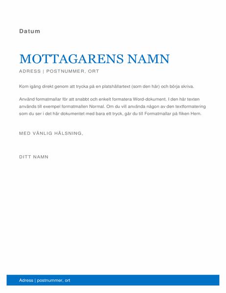 Affärsbrev
