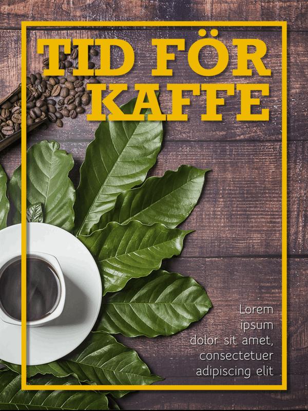 Affischer med mat och matlagning