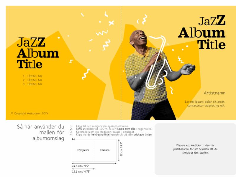 Albumomslag för jazz