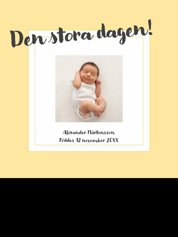 Fotoalbum för bebis milstolpar