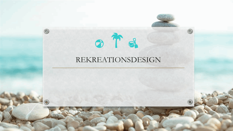 Rekreationsdesign