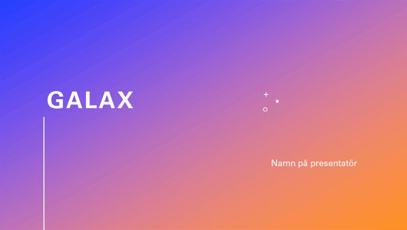 Galax presentation