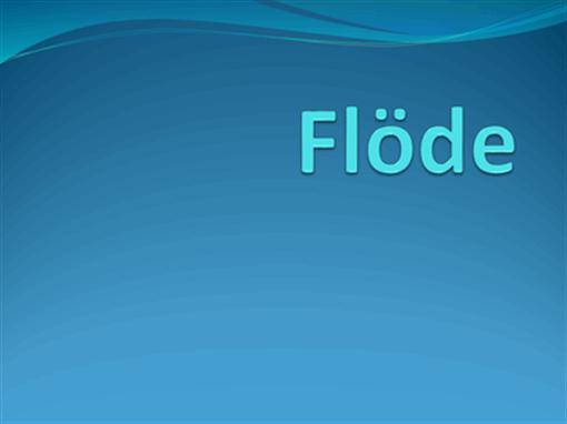 flöde