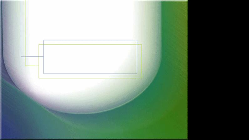 แม่แบบการออกแบบเม็ดโลหะสีฟ้า-เขียวบนสีขาว