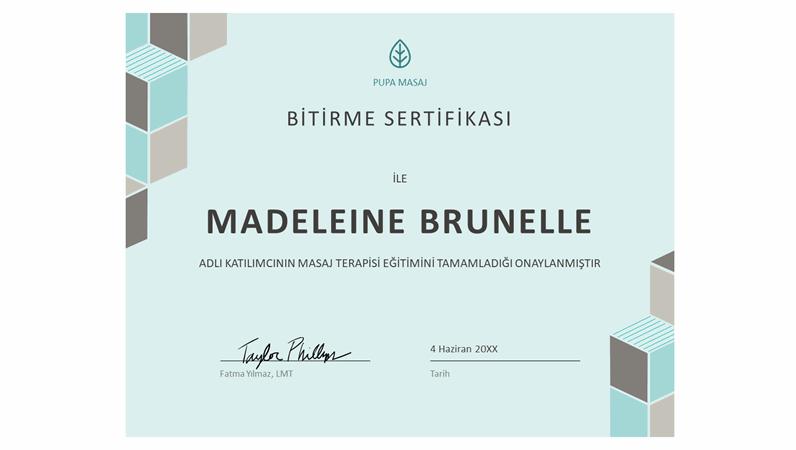 Bitirme sertifikası