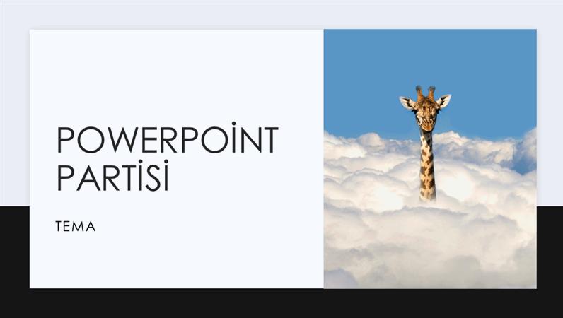 PowerPoint partisi