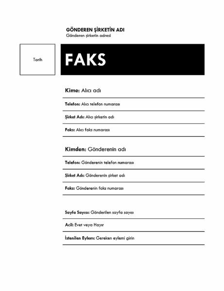 Faks (Medyan tema)