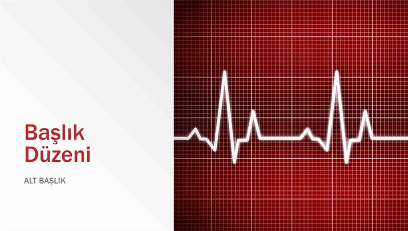 Tıbbi tasarım sunusu (geniş ekran)