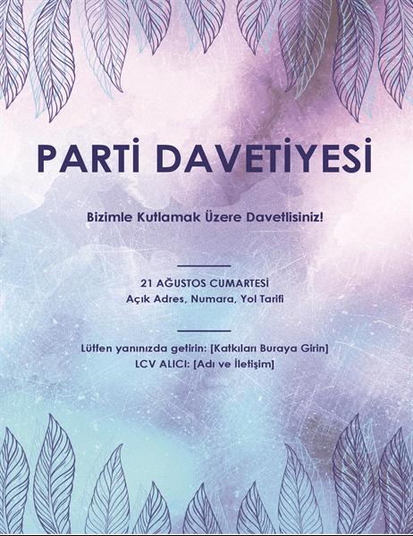 Parti daveti el ilanı