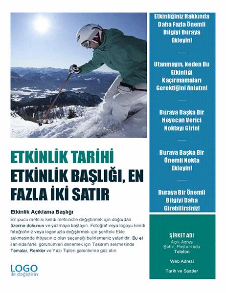 Mevsimlik etkinlik el ilanı (kış)