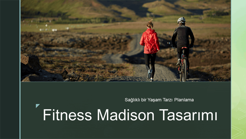 Fitness Madison tasarımı