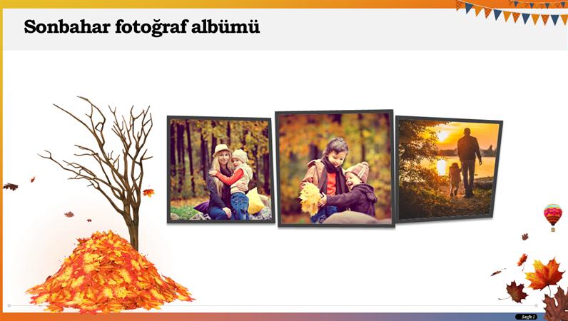 Sonbahar fotoğraf albümü