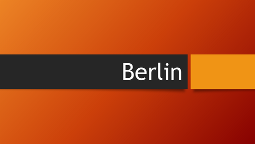 Berlin Turuncusu